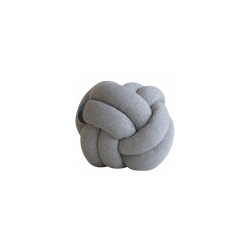 Coussin Noeud marin gris