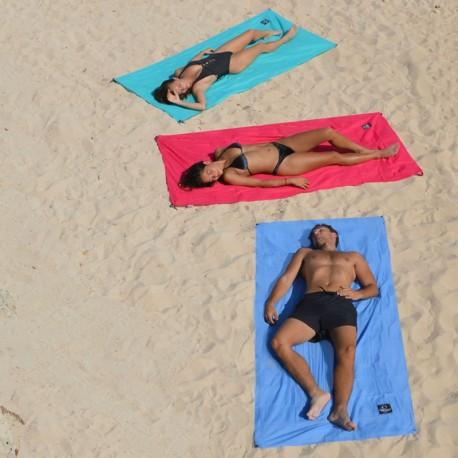 Drap de plage à fixations - 1 personne