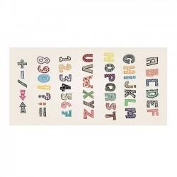 Tapis vinyle enfant - Alphabet