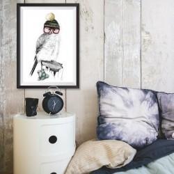 Affiche hibou
