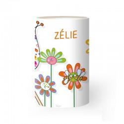 Lampe personnalisable - Fleurs