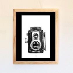 Affiche photographie - Vintage