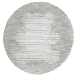 Tapis rond - Ourson