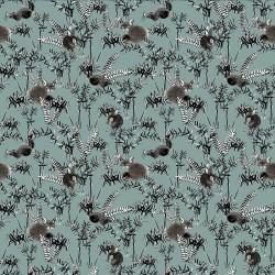 Papier peint intissé - Mini animals Lichen