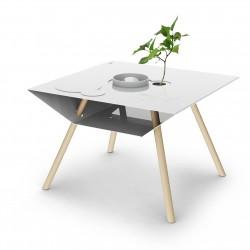 Table basse avec inserts