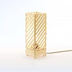 Lampe à poser en bois - Dialic