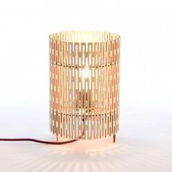 Lampe à poser en bois - Cylix