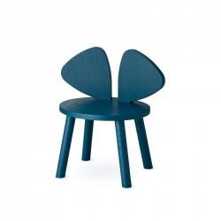 Chaise souris 2/5 ans - Bleu Pétrol