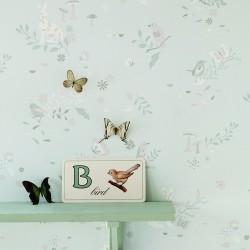 Papier peint jardin secret