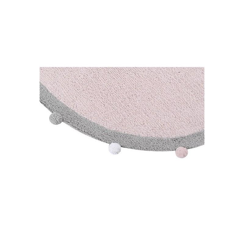 tapis en coton lavable bubbly. Black Bedroom Furniture Sets. Home Design Ideas