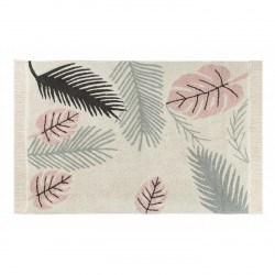 Tapis Tropical rose - 140 x 200 cm