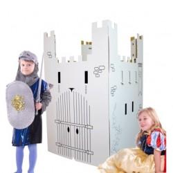Château à colorier en carton