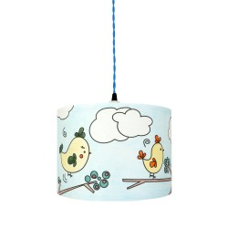 lampe à colorier happy Birds