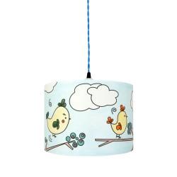 lampe à colorier happy Birds
