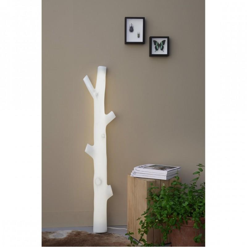 lampe tube fluorecent tronc. Black Bedroom Furniture Sets. Home Design Ideas