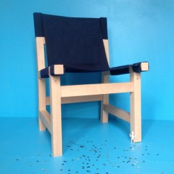 Chaise Ibiza - Bleu marine