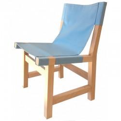 Chaise Ibiza - Bleu ciel