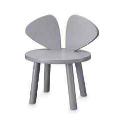 Chaise souris grise