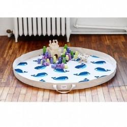 Tapis de jeux Baleine bleue 3 sprouts