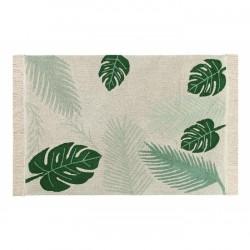 Tapis Tropical vert - 140 x 200 cm
