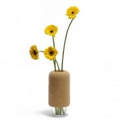Vase cantine bois et liège