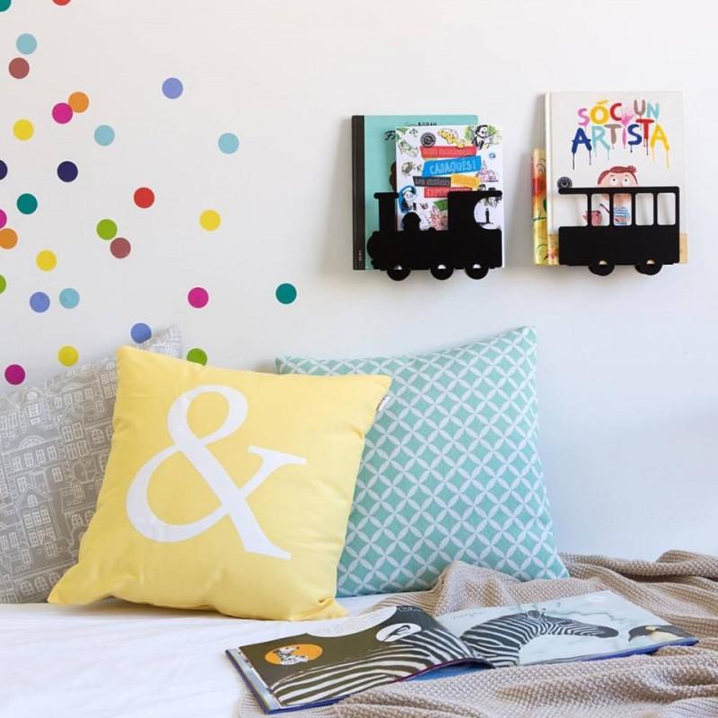 biblioth que petit train. Black Bedroom Furniture Sets. Home Design Ideas