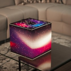 Lampe cube - Constellations
