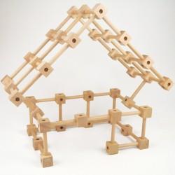 Jeu de construction en bois kit débutant