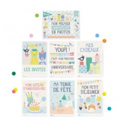 Cartes d'activités - Mon premier anniversaire