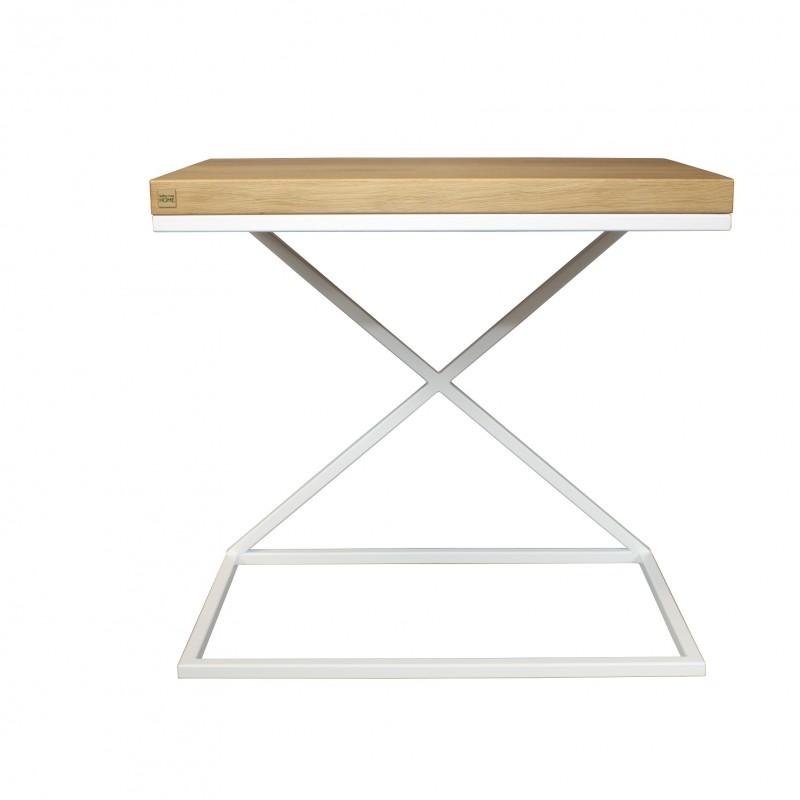 table d 39 appoint plateau ch ne. Black Bedroom Furniture Sets. Home Design Ideas