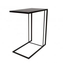 Table d'appoint noire