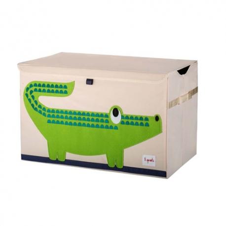 Coffre de rangement crocodile