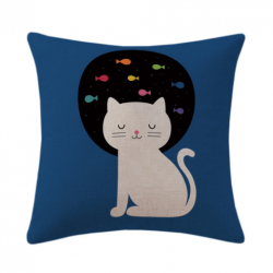 Coussin chat design