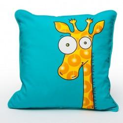 Coussin Girafe rigolote
