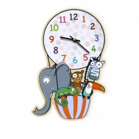 Horloge Montgolfière