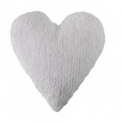 Coussin coeur Blanc