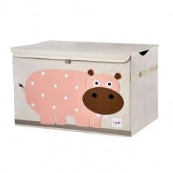 Coffre à jouet Hippo