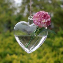 Vase suspendu - Coeur