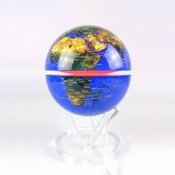 Globe terrestre lumineux électromagnétique