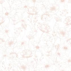 Papier peint - Fleurs
