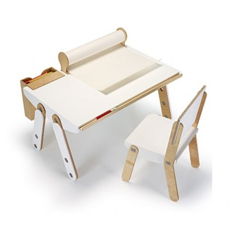 Ensemble bureau évolutif et chaise